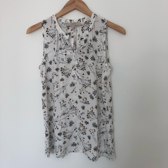 LOFT Tops - Loft Floral Top (New With Tags!)